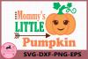 Mommy's Little Pumpkin Svg, Little Pumpkin Svg, Baby svg example image 1