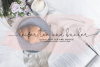 Oh Darling- Ethereal Script Font example image 5