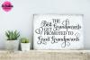 Best Grandparents Get Promoted - SVG, DXF, EPS Cut File example image 2