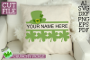 St Paddy Monograms - St Patrick's Day SVG File Bundle example image 6