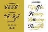 Lesley - Monoline Script Font example image 6