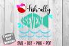 Ofishally Seven Birthday SVG example image 1