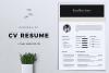Minimalist CV / Resume Template Vol. 05 example image 1