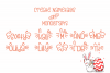 Ms. Biscuits - an adorable handwritten font with doodles example image 6