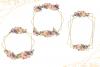 Geometric Gold Frames, Floral Crystal Frames, Pink Frames example image 2