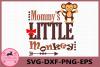 Mommy's Little Monkey svg, Monkey svg, Baby svg example image 1