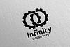 Infinity loop logo Design 8 example image 4