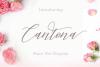 Cantona Italic Mulitilingual example image 1