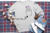 Unicorn pocket design SVG / DXF / EPS / PNG files example image 3