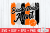 Basketball Aunt | SVG Cut File example image 2