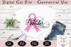 Breast Cancer SVG, Pinktober SVG example image 1
