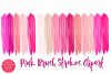 Pink Brush Strokes Clipart-Brush Strokes Clipart example image 2