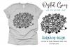 Hedgehog paper cut design SVG / DXF / EPS / PNG files example image 1