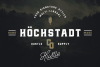 Höchstadt Font example image 2