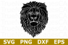 Lion Silhouette - An Animal SVG Cut File example image 1