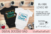 My Mimi Loves Me SVG |Silhouette and Cricut Cut Files example image 1