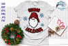 Gnome For The Holidays SVG | Christmas Gnome SVG File example image 3