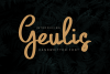 Geulis Stylish Font example image 1