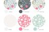 Floral Pattern Design Set example image 2