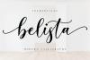 Belista Script example image 1
