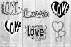 Love Doodles by Digital Doodle Pad example image 1