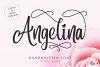Angelina Script- Beautiful Handwritten example image 1