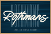 Rothmans - Font Duo Free Version example image 1