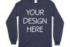 Gildan 5400 Long Sleeve Tshirt Mockups-16 example image 10