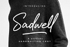 Sadwell - A Casual Handwritten Font example image 1