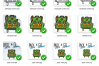 Pack More and Go Further - SVG-EPS-JPG-PNG example image 2