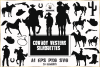 Cowboy Western Silhouettes example image 1