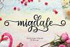 Migdale Script || Love Font example image 1