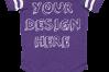Infant Football Bodysuit Mockups - 12 |PNG|Front/Back - V2 example image 5