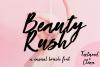 Beauty Rush Font Set example image 1