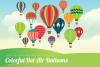 Colorful Hot Air Balloons example image 1