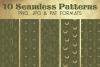 Gold Khaki Snake Crystal Paper - Seamless Photoshop Pattern example image 1