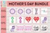 Mom | Mother's Day Bundle | Mom and Mum Designs example image 1