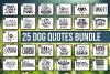 HUGE Dog Quotes SVG Bundle example image 1