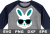 Bunny Face Boy - An Easter SVG Cut File example image 1