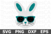 Bunny Face Boy - An Easter SVG Cut File example image 2