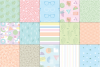 Pastel 80's Seamless Patterns example image 4