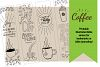 Printable Coloring page Coffee Themed Bible Verses example image 8