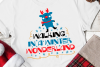 Walking In A Winter Wonderland Svg, Christmas, Christmas Svg example image 1