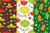 12 Cinco de Mayo Seamless Patterns example image 4