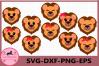 Lions SVG, Animal face svg, Lion Eyelashes Face Svg, Lion example image 1