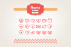 Hand Drawn Hearts Icons example image 1