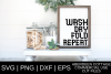 Wash Dry Fold Repeat Laundry 2 SVG| PNG | EPS | DXF example image 1