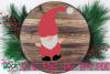 Santa Gnome - A Christmas Gnome SVG example image 2