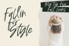 Fall Harvest - A Handwritten Script Font with extras! example image 15