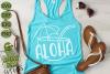 Aloha Coconut Drink Summer Beach SVG Cut File example image 5